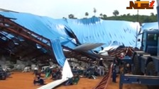 At least 160 killed after church roof collapses in Nigeria