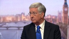 Fallon: Media 'making a meal' of Boris Saudi Arabia remarks