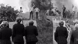 Miners and police were involved in violent clashes at Orgreave in 1984.