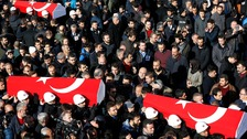 Turkey mourns victims of twin blasts outside Istanbul stadium