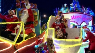 Last year's Christmas Parade floats