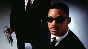 Will Smith in 1997 film Men in Black.