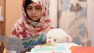 Malala Yousufzai was shot by a gunman in Pakistan one month ago.