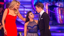 Claudia Fragapane is the 12th celebrity to depart the dance floor.