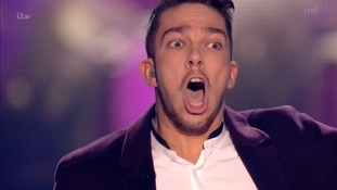 Matt looked shocked when they announced he had won.