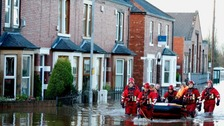 Carlisle under water after Storm Desmond