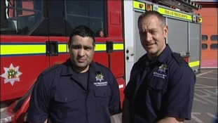 Four Nottingham firefighters to collect the Queen's Gallantry Medal