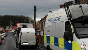 Police carried out searches in Horden and Peterlee.