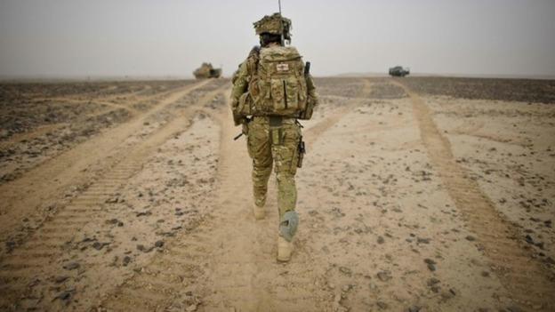 Service personnel who return to the UK often find life difficult to deal with