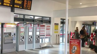 A new ticket office has been opened up to passengers