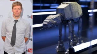 Lincolnshire inventor creates model Star Wars vehicle