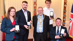 The Mayor of Sunderland, Councillor Alan Emerson, has honoured the city's Olympic and Paralympic stars.