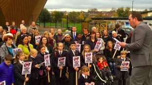Campaigners fought against the plans