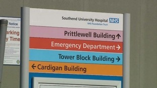 Parts of the hospital have been evacuated