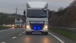 Police undercover lorry stamps out dangerous driving