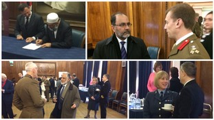 Muslim owned businesses and organisations sign pledge of support for armed forces community