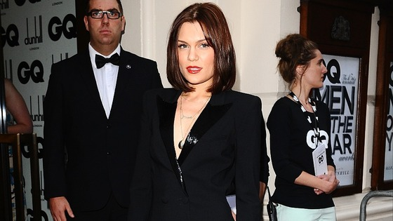 Jessie J at the 2012 GQ Men Of The Year Awards at the Royal Opera House, Bow Street, London.