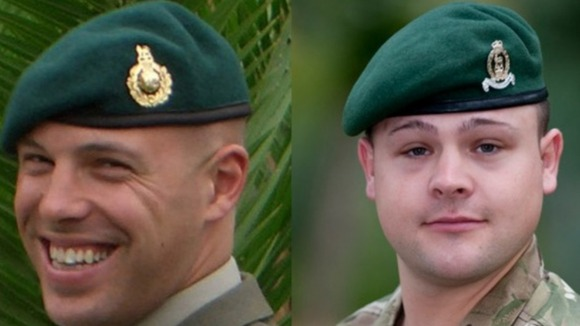 Sergeant Luke Taylor and Lance Corporal Michael Foley