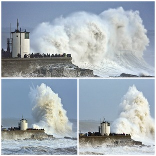 A storm at Porthcawl