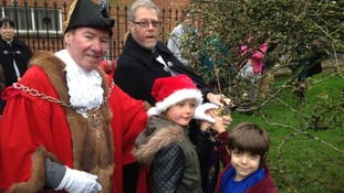 The Somerset sprig spending Christmas with the Queen