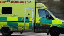 File photo of an ambulance