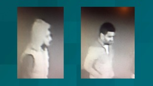 Police have released two CCTV images of men they want to trace in connection with a burglary investigation.