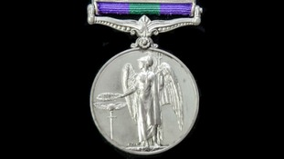 Police search for 'stolen' war medal