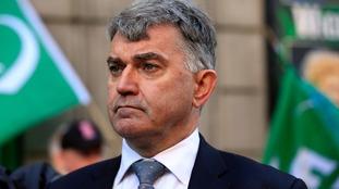 Mick Cash, General Secretary of the RMT