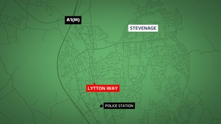 A man, 19, has died in a car crash in Stevenage.
