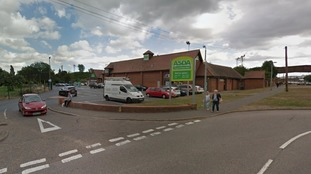 Armed robbers have stolen a six-figure sum from a supermarket in Essex.
