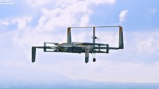 Cambridgeshire has become the location of the world's first Amazon delivery by drone.