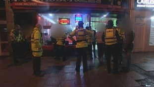 Police on patrol in Carlisle