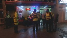 Police on patrol in Carlisle