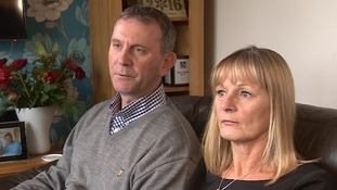 Dave and Anne Mudd say they won't celebrate Christmas because the emotions are still too raw after their son's death.