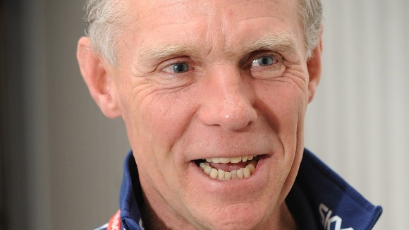 British cycling head coach Shane Sutton.