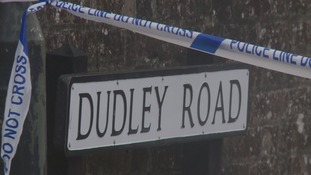 Dudley Road sign