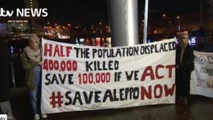 Plea to save Aleppo