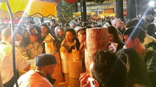 Cheese-themed extravaganza 'descends into chaos'