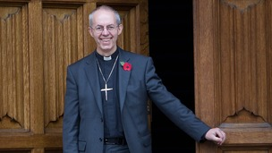 The new Archbishop of Canterbury the Right Reverend Justin Welb