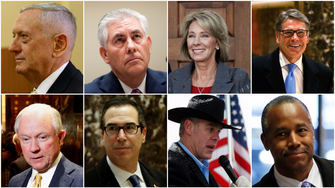 Donald Trump's cabinet: A closer look at the new President's team ...