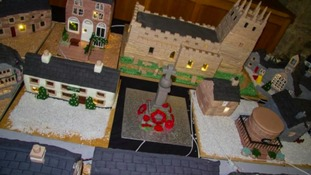 Cake model of Peak District's Youlgrave village fetches £3,000 at auction to pay for church roof