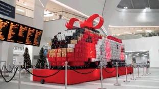 Presents for Passengers at Birmingham New Street
