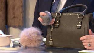 The £40 Debenhams bag found to be real rabbit fur.