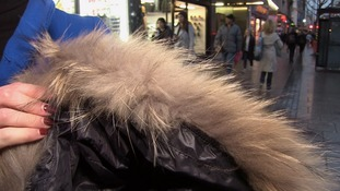 The Westside coat which was found to be raccoon dog.