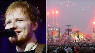 Ed Sheeran could be set to headline Glastonbury.