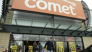 A Comet store in north London