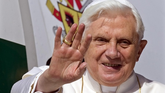 Pope Benedict is joining Twitter