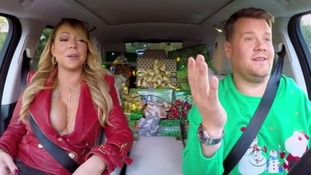 Mariah Carey, Elton John, Adele and more join James Corden for a surprise Christmas Carpool Karaoke