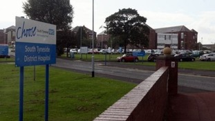 South Tyneside District Hospital.
