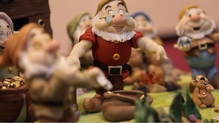 Disney characters the Seven Dwarfs